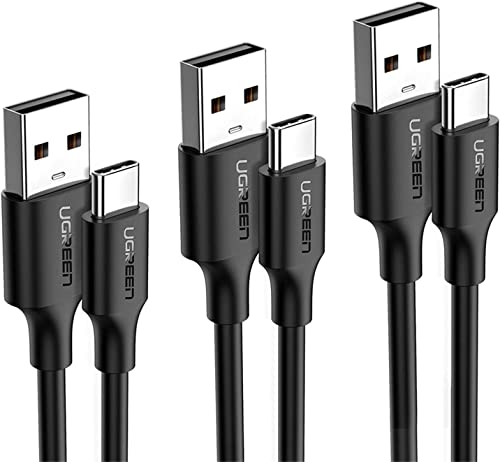 new arrival UGREEN USB C Cable 3-Pack USB Type C outlet sale Cable 6ft3ft1.5ft USB A to USB C Fast Charger Cord Compatible for Samsung Galaxy Note20 S20 S10 S9 S8 Note 10 9 Nintendo Switch online sale LG G8 G7 V40 V30 online sale