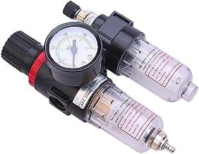 Nicetruc AFC Filtro BSPP neumático Regulador de Agua Separador de Aceite Filtro de Aire de Dos Piezas procesador de la Fuente de Aire 2000