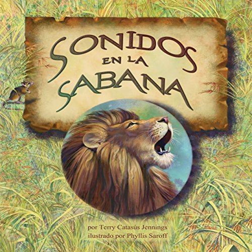 Sonidos en la sabana [Sounds in Savannah] copertina
