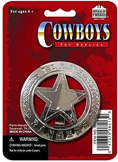Parris Texas Ranger Badge