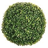 Jardideco - Boule de buis artificielle diamètre 30 cm