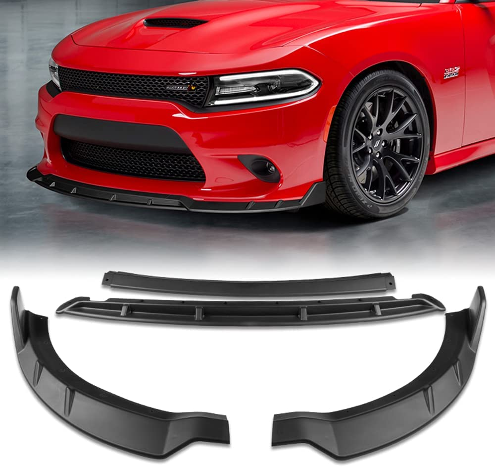 Q1-TECH 4-Piece Front Bumper Lip Ranking TOP1 2015-2 with compatible cheap for fit