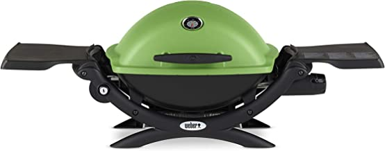 Weber Q-1200 Green LP Gas Grill, 51070001