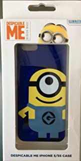Despicable Me Minions iPhone 5S 5 SE Clip Case Blue Minion Design