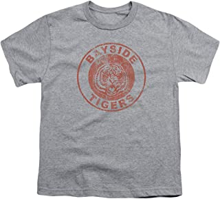 Saved by The Bell Bayside Tigers NBC Youth T Shirt & Stickers