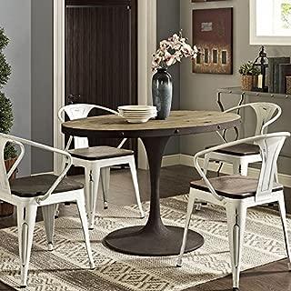 oval farmhouse dining table