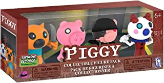 piggy Lot de 4 Figurines de Collection (Comprend des Articles DLC), Collectable Minifigure 4PK