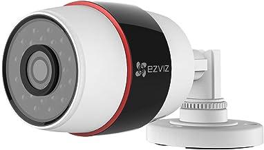 EZVIZ 1080p Outdoor WiFi Bullet Camera, Motion Detection, Audio Reception, Night Vision - REFURBISHED