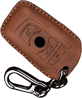 BMW Key Fob Cover Key Case Shell Pouch Protector for BMW 1 3 4 5 6 7 Series and X3 X4 M2 M3 M4 M5 M6 Keyless Entry