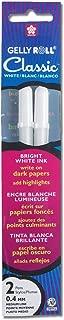 Gelly Roll Gel-Ink Pen, medium-point, white