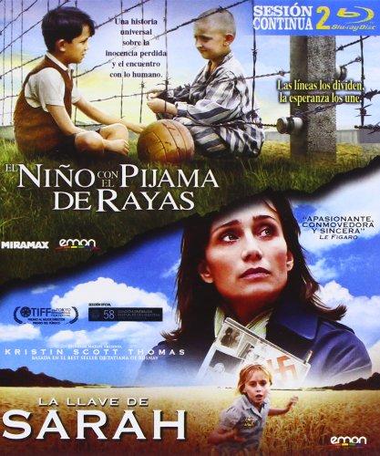 Pack: El Niño Con El Pijama De Rayas + La Llave De Sarah [Blu-ray]