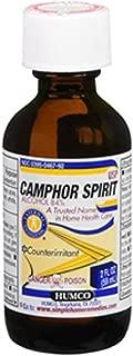 Humco Camphor Spirit USP 2 oz (Pack of 3)