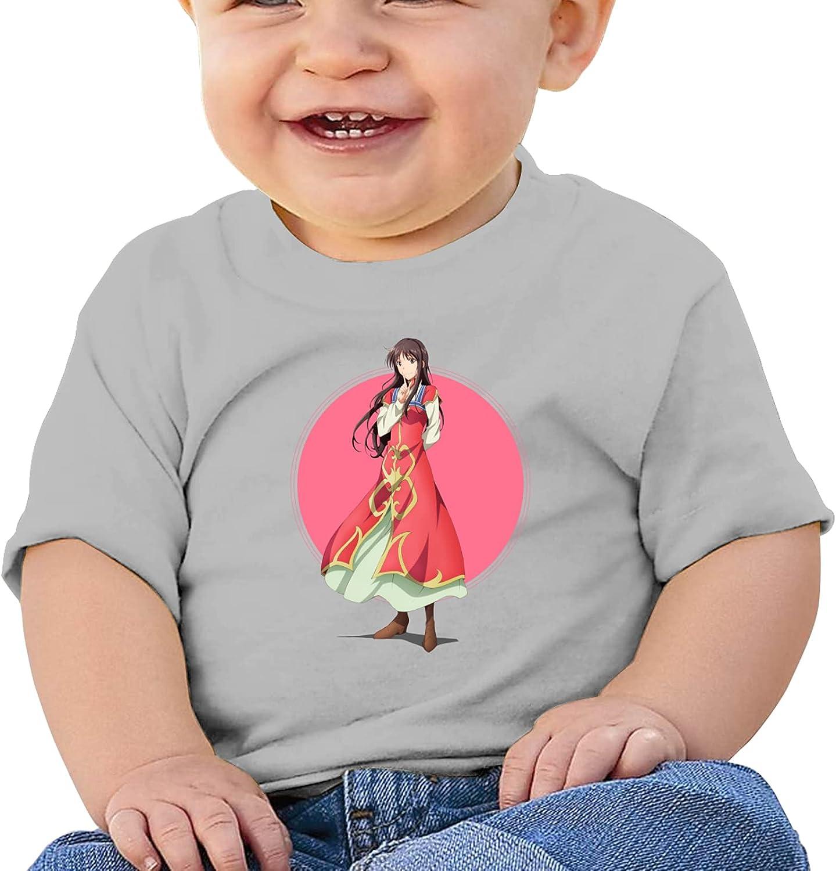 YIDFG Sei Takanashi Anime Infant Crew Neck Short Sleeve Tee