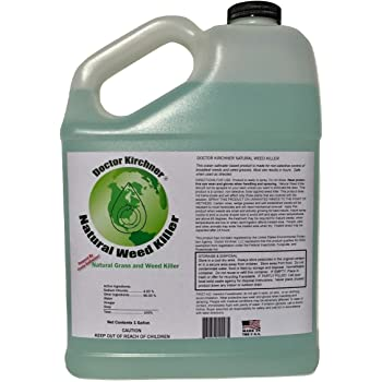 Doctor Kirchner Natural Weed & Grass Killer (1 Gallon) No Hormone Disrupting Chemicals
