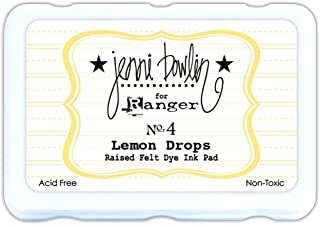 Ranger Ink Jenni Bowlin Dye Ink Pad: Lemon Drops