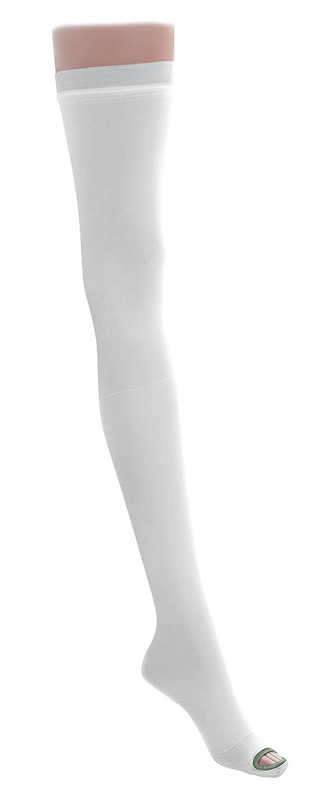 ズボン目を覚ます肉屋Medline MDS160884 EMS Latex Free Thigh Length Anti-Embolism Stocking, X-Large Regular, White (Pack of 6) by Medline