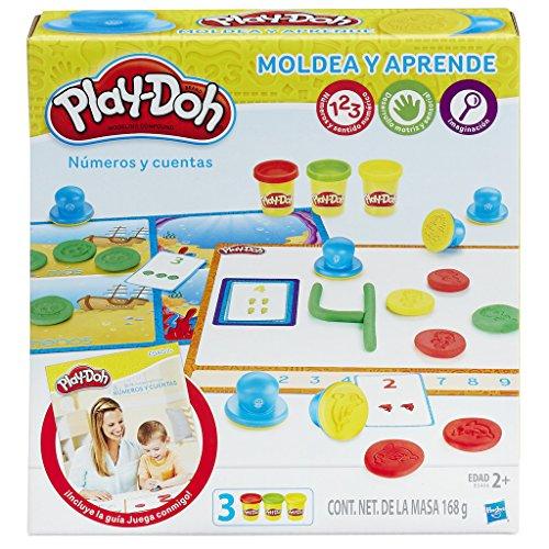 Play Doh- Aprende a Contar Números, Multicolor, única (Hasbro B3406105)
