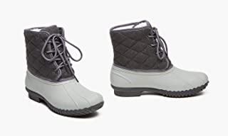Lacey Weather Womens Rubber Rainboots Outdoors Boots All Weather Protection
