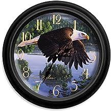 "Reflective Art 16"" Wings of Destiny Classic Clock"