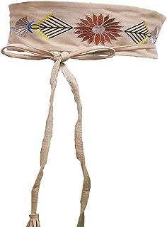 Women's Waist Sash Hand-Embroidered Sash Belt Stylish Waist Belt for Wedding Dresses