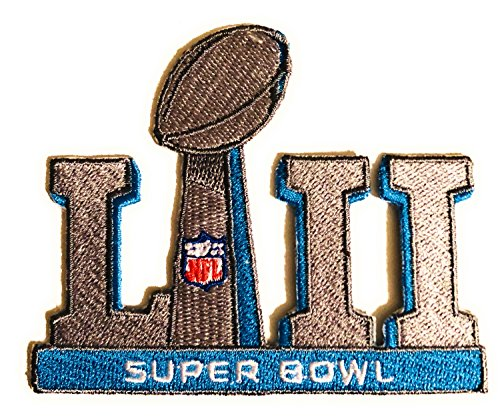 Football 2018 Super Bowl 52 LII Patch with Color NFL Shield Limited Edition Superbowl LII Patriots VS. Eagles