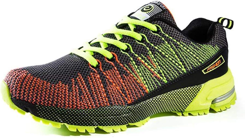 Sportsskor 2018 ny Springaa  Fall Casual skor skor skor Knit maska skor män Andable springaning skor  svart grön  svart röd skor  exportutlopp