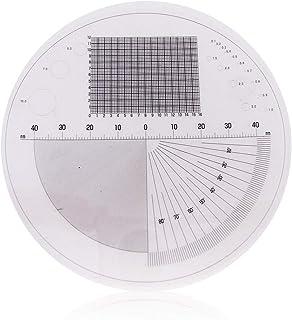 3R SOLUTION スケールシート 拡大鏡 顕微鏡 用 長さ 角度 直径 計測