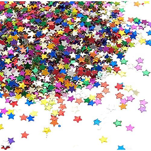 Star Confetti - Metallic Glitter Foil...
