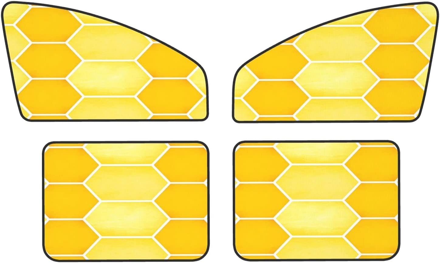 Super special price Honeycomb Surface 55% OFF Car Magnets Protect R Covers Sunshades Privacy