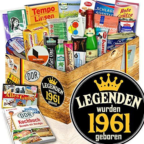 Legenden 1961 / Geschenk 1961 / DDR Spezialitäten - Geschenk