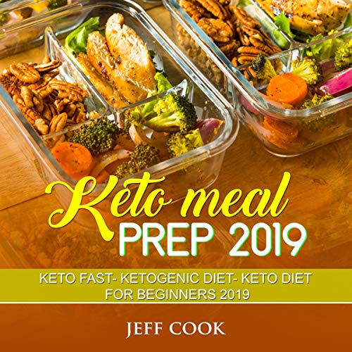 Keto Meal Prep 2019 audiobook cover art