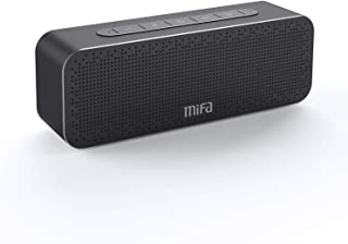 Vainqueur du Test Enceinte Portable 30W, MIFA A20 Soundbox Haut Parleur Bluetooth 4.2 TWS & DSP Suono Stereo & Bass, Audio 3,5 mm, Emplacement pour Carte Micro SD, Microphone pour iPhone iPad Samsung