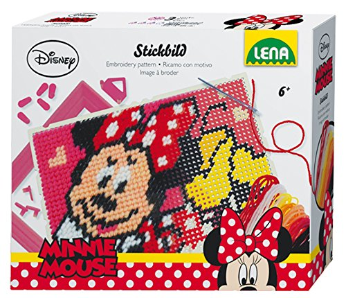 Lena Stickbild Disney Minnie