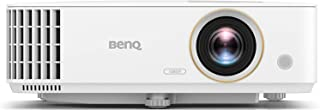 BenQ TH585 1080p Home Entertainment Projector | 3500 Lumens for Lights on Enjoyment | High Contrast Ratio for Darker Blacks | Loud 10W Speaker | Low Input Lag for Gaming | 3D