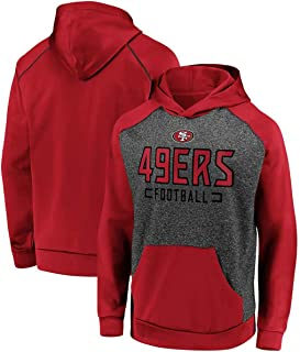 HS-XP Hombres NFL Sudaderas - San Francisco 49Ers De La NFL De Fútbol De Manga Larga De La Ropa del Deporte - Sudaderas Su...