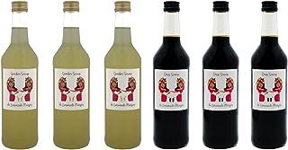 de Limonade Meisjes Mix van Siropen - Drop - Gember - 6x Fles 500ml - Vruchtensap