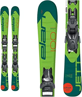 Elan Jett Kids Skis with EL 4.5 Bindings