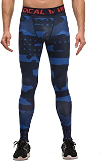 Willarde Men's Compression Leggings Base Layer Tights Wicking Pants