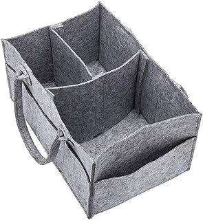 1pc couches pour bébés Organisateur bébé couche-culotte Caddy organisation Feutre Panier portable Nursery Boîte de rangeme...