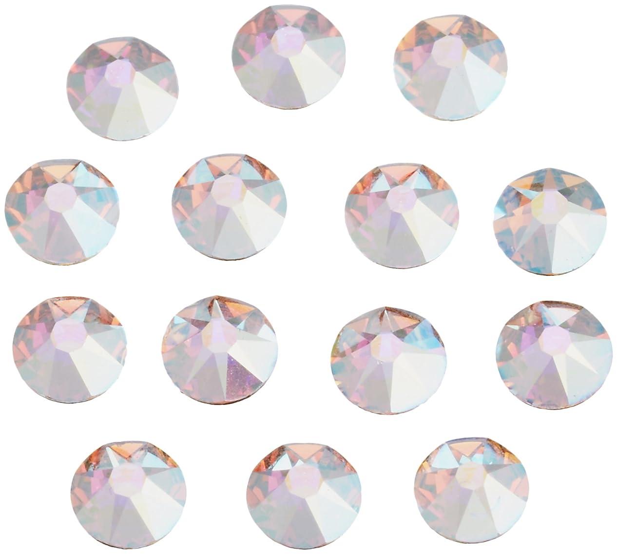 同情的インレイオンスネイルアートパーツ クリスタルAB SS12:3.0~3.2mm 240P