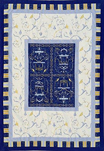 Bassetti Granfoulard 9262998 Tagesdecke, Oplontis V9n - 155x200 cm
