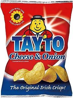 25x 45g - Tayto Cheese & Onion Ireland's favourite Potato Crisps Chips ( Irish Online Supermarket )