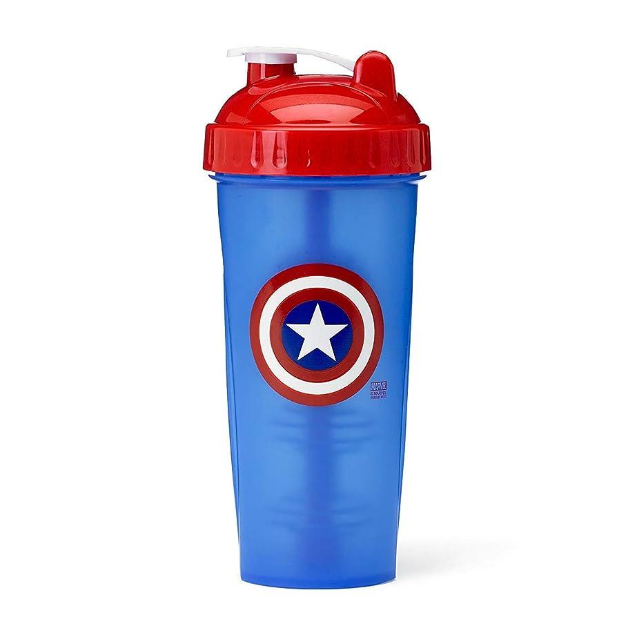 れるウール飢えPerfectShaker Hero Series Captain America Shaker Cup (800ml) by Perfect Impressions