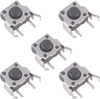 eXtremeRate 5 Pcs Replacement 4 Pin Left Right Shoulder Trigger L/R Key Button Micro Switch for Gameboy GBA SP Game Console