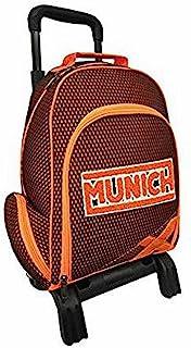 Munich Rejilla Mochila Carro, Color Naranja