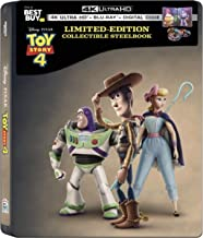 Toy Story 4 (Limited Edition Steelbook) [4K Ultra HD + Blu-ray + Digital HD]