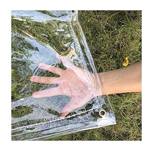 Lonas Impermeables Exterior LJIANW Lona De Protección Vaso Lonas Claras Impermeable Transparente...