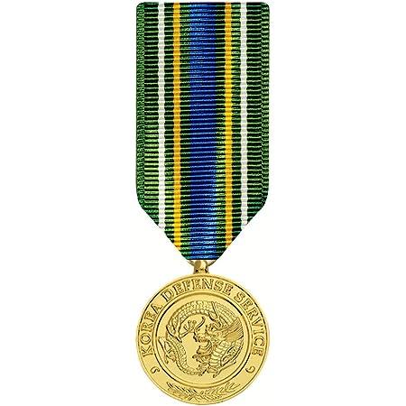 Korean Defense Service Medal Miniature Anodized