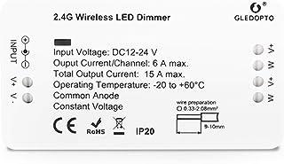 LIGHTEU®, Zigbee dimmer enkelkleurige LED-strip controller 12V-24V compatibel met Zigbee Hub Amazon Echo Plus Alexa en Lig...