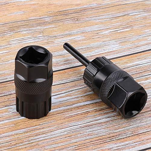 QKURT Cassette Lockring Tools Set, 2pcs Cassette Removal Tool Freewheel Maintenance Tool